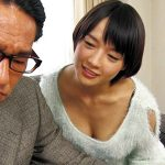 【NTR】向井藍│「お義父さぁぁん!まだイッちゃダメですっ!!」射精しそうになると寸止めする息子の嫁