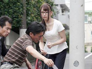 【SOD女子社員レイプ】結婚間近の女性社員が起きた悲劇■卑しいファンに貶められ屈辱レイプ