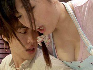 【レイプ】青山菜々│「おっぱいデケェッ!」年下浪人生が嫌がる爆乳Iカップお姉さんを強姦中出し